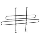 Adori-Autorek-verstelbaar-b-85-150-h-60-110-cm-zwart