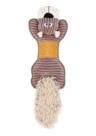 Speeltje-rib-TPR-bruin-51x18-cm