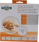 PetSafe-Staywell-Kattendeur-932-met-magneet-slot-Wit-Met-sleutel-voor-aan-halsband