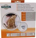 PetSafe-Staywell-Kattendeur-917-Wit-Met-tunnelstuk-voor-deuren