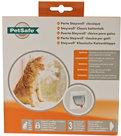 PetSafe-Staywell-Kattendeur-919-Wit-Voor-in-glas-of-dunne-panelen