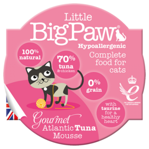 Little BigPaw Gourmet Atlantic Tuna Mousse For Cats (85g)