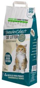 Breeder Celect kattenbakkorrels 100% gerecycled 10 liter
