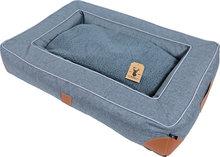 Boony 'Est 1941' square sofa highland graphite, 85x60 cm.
