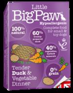 Little BigPaw Tender Duck & Vegetable Dinner (150g)