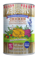Little BigPaw Chicken with Green Beans, Mixed Peppers and Sweet Potato in a Rich Herb Gravy (390g)