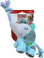 Kong hond Knots Carnival olifant, small/medium.