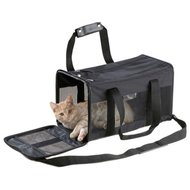 Ebi Reistas - Kattenvervoersbox - 48x25x25 cm 1.17 kg Zwart