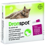 Dronspot Spot-On Kat 5 - 8 Kg - Anti wormenmiddel - 2 pipetten