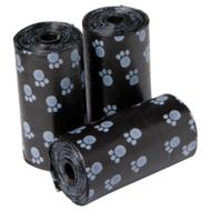 Poepzakjes 3x20 stuks zwart
