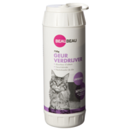 BeauBeau Kattenbak geurverdrijver lavendel 750 gram