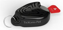 Tickless Pet Ultrasonic Teken en Vlooien verjager Zwart