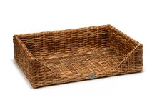Designed by Lotte rattan hondenmand Eton. 100 x 70 x 25 cm.