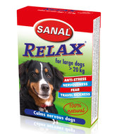 Sanal Relax Kalmeringstablet Vuurwerk onweer stress wagenziekte