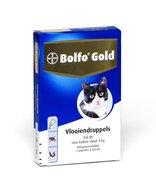 Bolfo gold 80 4 pipetten boven 4 kg