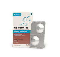 Exil No worm pro hond Medium 2 tabletten