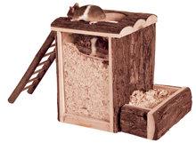 Hamster Speel- en Graaftoren 'Natural'