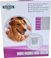 Staywell PetSafe hondendeur Medium 740 Wit Max schouderbreedte 219 mm Honden tot max. 18 kg