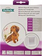 PetSafe Staywell Hondendeur 715 Wit transparant met afsluitpaneel Honden max. 7 kg